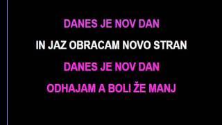 Karaoke - Sergeja - Danes je Nov Dan
