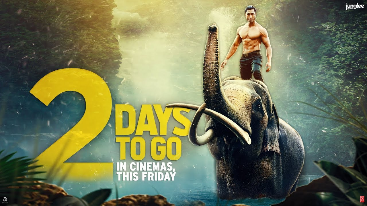 Junglee days to go vidyut jammwal th march youtube