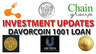 Investment Updates : Bitconnect, Regalcoin, Chain Group, Hextracoin, USI Tech, Davorcoin