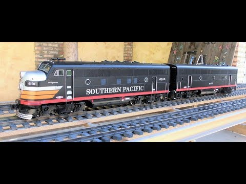 Intense Rail Locomotive Layout -These USA Trains Southern Pacific F3's