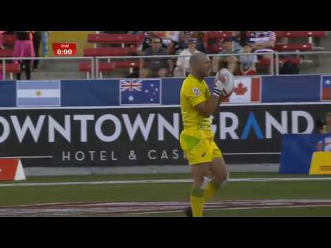 (HD) Las Vegas 7s | Australia v Scotland | Pool D | Full Match Highlights | Rugby Sevens