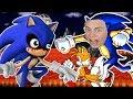 Я ПОБЕДИЛ СОНИКА EXE Странный пиксельный герой в игре Sonic EXE на канале GAMES FACTORY