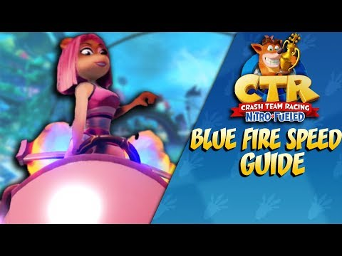 Crash Team Racing: Blue Fire Guide (N. Sane Speed)