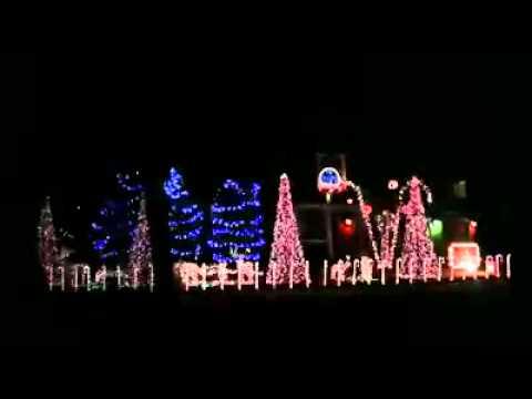 Bad ass Christmas lights - YouTube
