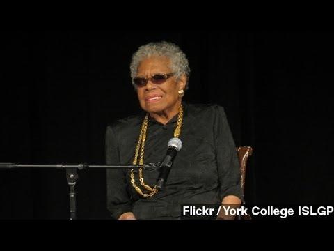 Maya Angelou, Civil Rights Activist And Poet, Dies At 86