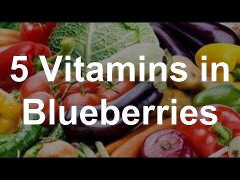 5 Vitamins in Blueberries - Health Benefits of Blueberries