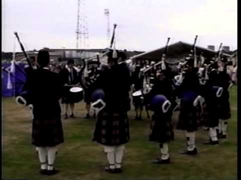 ST. THOMAS' EPISCOPAL PIPES AND DRUMS WORLD CHAMPIONSHIPS 1995