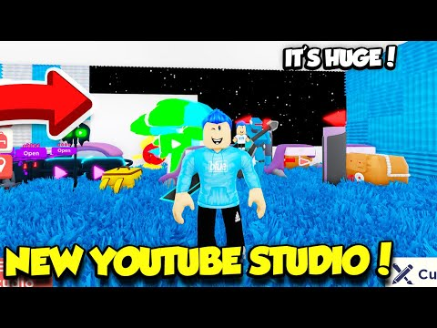 Introducing The NEW YouTube Simulator Studio 2.0! *IT'S HUGE* (Roblox)
