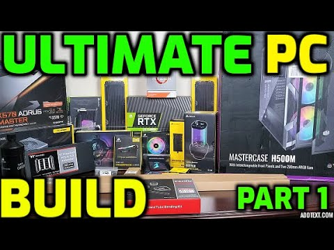 Ultimate Gaming PC Build Part 1 - Which Components did I choose?