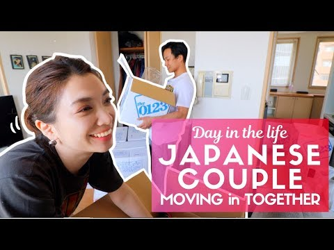 Day in the Life of a Typical Japanese Couple Moving in Tokyo