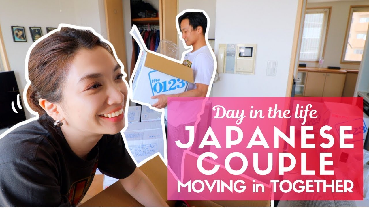 Day In The Life Of A Typical Anese First Time Moving Into Tokyo Apartment Together