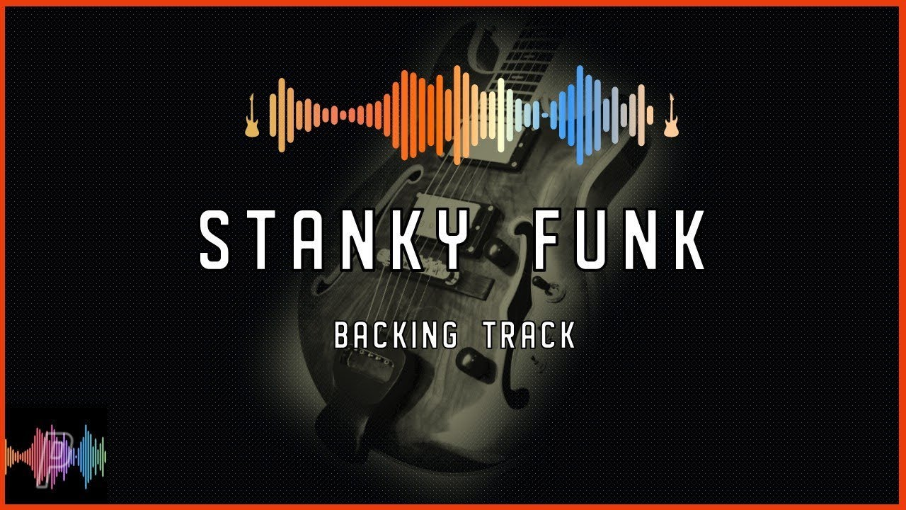 Stanky Funk Backing Track Jam in C Mixolydian Blues