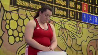 Тяжелая атлетика. Чемпионат Украины-2016. Женщины, +75 кг. Городок, Хмельницкая область