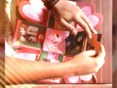 Handmade Gift For Best Friend Surprise Exploding Box Janhvi Patil Nikki You