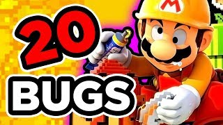 20 BUGS SUR SUPER MARIO MAKER