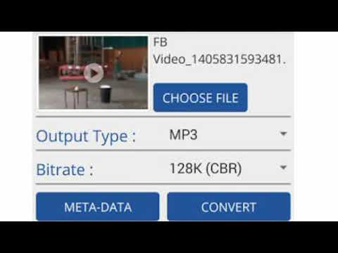 Video Song Ko Mp3 Audio Me Convert Kare
