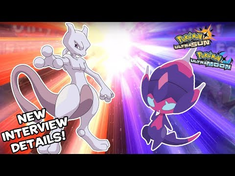 Mewtwo Catchable! Famitsu Article Lists More Pokemon USUM Details + The Riddler Gives New Info