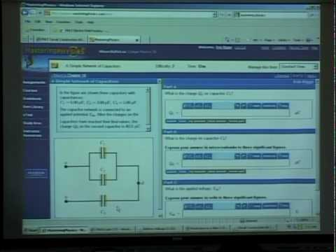 PHYSICS 220 - SP2010 - Capacitance, Intro to DC Circuits