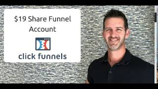 $19 Clickfunnels Pricing 2018 - $19 Clickfunnels Plan - How to get Clickfunnels for $19