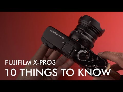Fuji X-Pro3 FIRST Impressions // 10 Things To Know