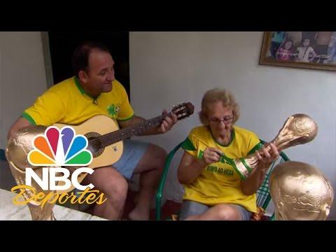 Réplicas del trofeo del Mundial en Brasil | FIFA Desde Brasil | NBC Deportes