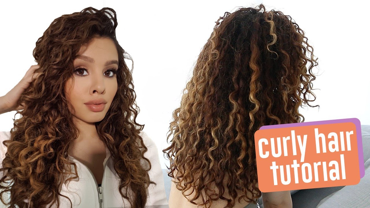 my hair is curly how can i style it my curly hair routine 8169 | maxresdefault