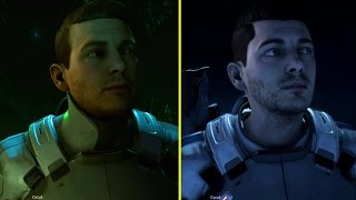 Mass Effect Andromeda PS4 Pro Demo vs Retail Xbox One S Graphics Comparison