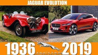 JAGUAR EVOLUTION FROM 1936-2019