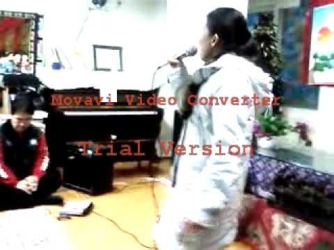 osan migrants center(malou singing)