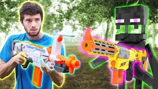 Nerf War: Nerf Meets Minecraft 2