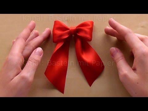 Geschenk Verpacken Schleife : schleife binden zum geschenke verpacken diy geschenkschleife zum geschenk dekorieren basteln ~ Orissabook.com Haus und Dekorationen