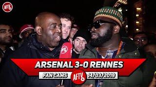 Arsenal 3-0 Rennes | Aubameyang  Is A Balla! (Kelechi)