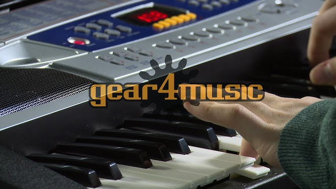 Mk 2000 54 Key Portable Keyboard By Gear4music Youtube