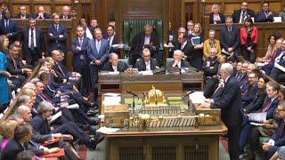 Corbyn v May at PMQs: 'This really is a shambles'