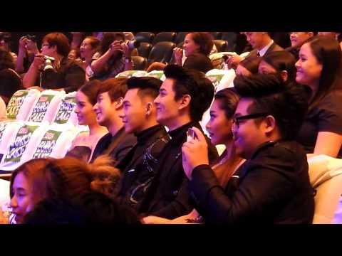 ช่วงประกาศรางวัล popular vote สาขานักร้องเพลงไทยสากลยอดนิยม งานคมชัดลึก AWARDS 13th 22/03/16