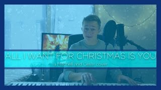 Michael Buble - All I Want For Christmas Is You COVER (Mitchell Downing Christmas Cover #2)