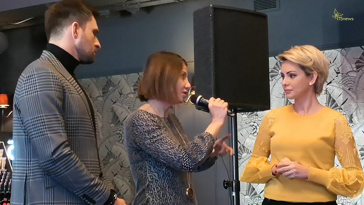 Grażyna Wolszczak, Dorota Gardias o makijażu. Prezentacja linii metalicznej, marki Golden Rose.