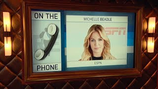 """Host of ESPN's """"Get Up"""" Michelle Beadle Talks NBA Playoffs & More I Full Interview - 4/16/18"""