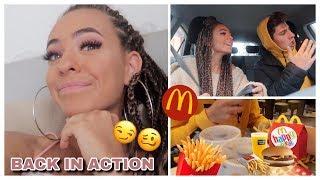hittin´ McDonalds w/ma brother - ZURÜCK in meiner HOMETOWN l Einfach Marci