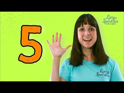 Five Currant Buns (kids nursery rhyme & action song)