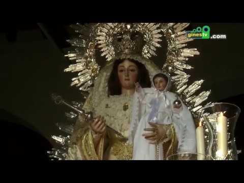 Gines celebra la festividad de la Candelaria con la procesión de la Virgen de Belén el domingo