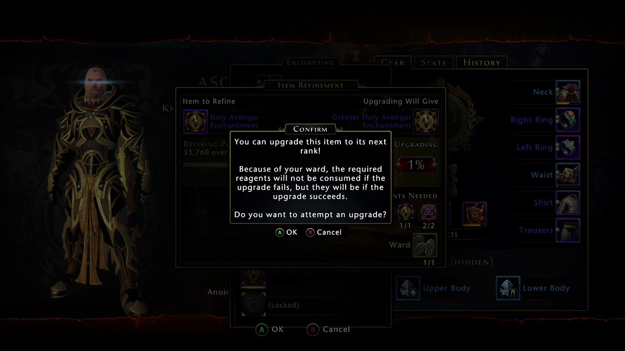 NEVERWINTER: 1% Weapon Enchantment UPGRADE Chance Success