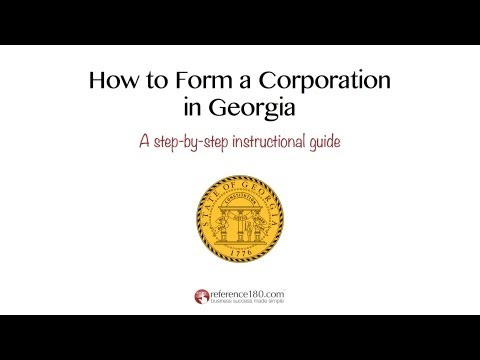 How To Incoporate In Georgia