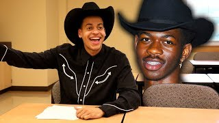 Download If Lil Nas X was in your class Mp3 and Videos