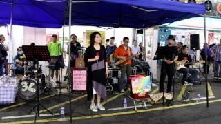 檳城艷+ 田園春夢-- Ah Lam & Fanny -- 3L樂隊香港街頭音樂會2016年4月1...
