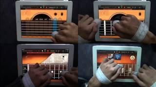 Stairway to Heaven (Led Zeppelin) covered by a quadriplegic man on iPad (Garageband)