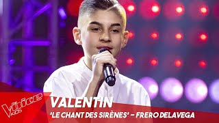 Valentin - 'Le chant des sirènes' | Blind Auditions | The Voice Kids Belgique