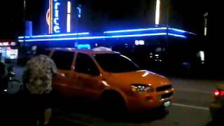 SUGE KNIGHT Starts Bum FIght in Vancouver BC on Granville street (skateboard vs guitar fight)