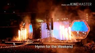 Coldplay Milan San Siro 3 July 2017 [HD]
