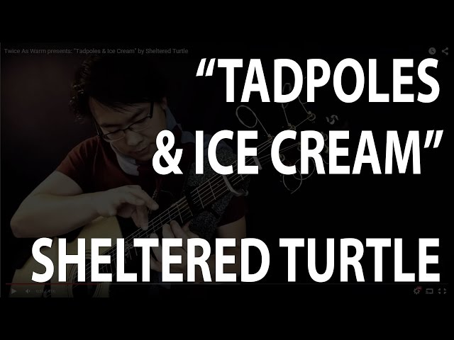 "Twice As Warm presents: ""Tadpoles & Ice Cream"" by Sheltered Turtle"